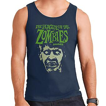 Hammer The Plague Of The Zombies Face Poster Men's Vest