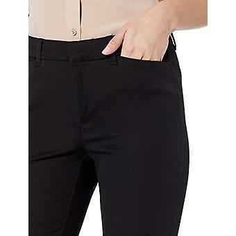 Essentials Kvinnor & s Skinny Pant, Svart, 18 Kort