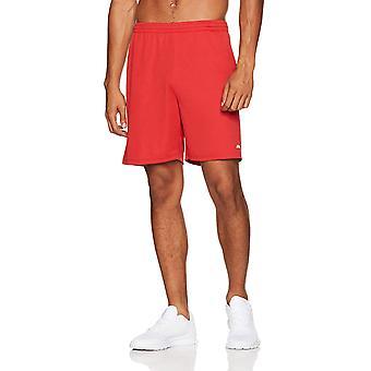 Essentials Men's 2-Pack Loose-Fit Performance Shorts, Sort/Rød, Stor