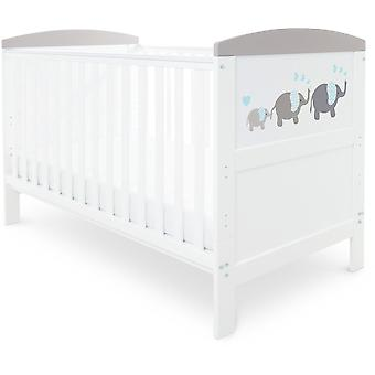 Babyhoot Coleby Style Cot Bed & Sprung Mattress