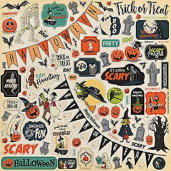 Carta Bella Happy Halloween 12x12 Inch Element Sticker
