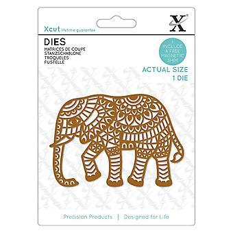 Xcut يموت الفيل الهندي