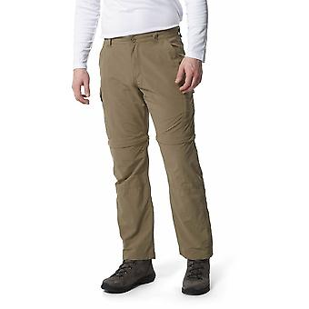 Craghoppers Mens NosiLife Convertible Trousers X-Long Leg 34in Pebble