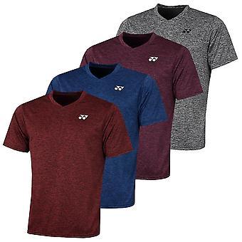Yonex Mens 2020 Moisture Wicking Breathable Raglan Round Neck Golf T Shirt