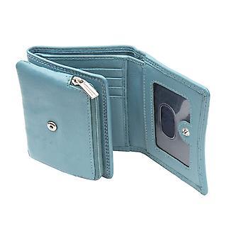 Primehide Womens Lederen Portemonnee RFID Blokkeren Small Card Wallet Dames 22816