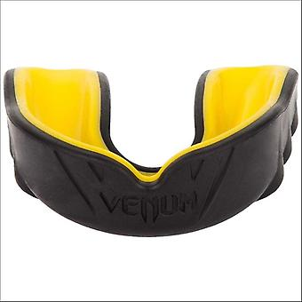 Venum challenger mouthguard black/yellow