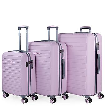 Monaco Medium and Large Cabin Suitcase Rigid Capacity 194 L