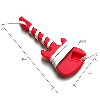 Silicone Guitar Shape Cable Cord Warp - Headset Headphone Earphone Cable Management