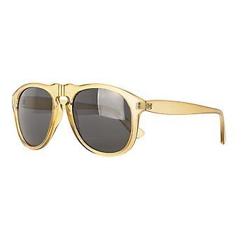النظارات الشمسية Unisex Cat.3 الصفراء الدخان / الأسود (& quot;amm19109c & نقلا عن&)