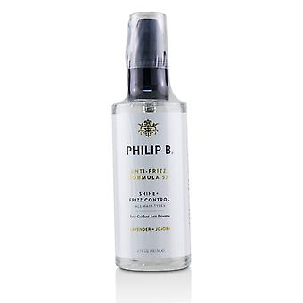 Anti frizz formula 57 (shine + frizz control all hair types) 226039 60ml/2oz