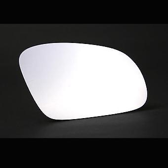 Right stick-on spegel glas för Volkswagen BEETLE Cabriolet 2002-2010