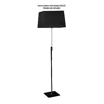 Inspired Mantra - Habana - Floor Lamp Telescopic 1 Light WITHOUT SHADE E27 Black/Polished Chrome