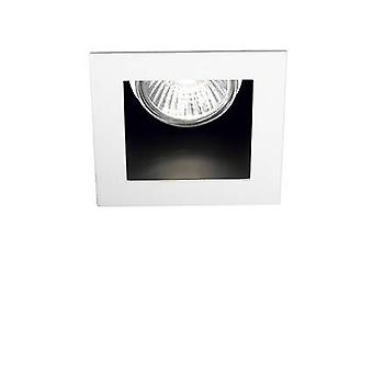 ideell lux funky - 1 lys innfelt spotlight hvit, gu10