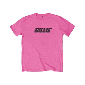 Billie Eilish Kids T Shirt Racer Logo & Blohsh new Official Pink (Ages 3-14 yrs)