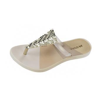 Zaxy Kids Fresh Girls Sandals / Flip Flops - Gold