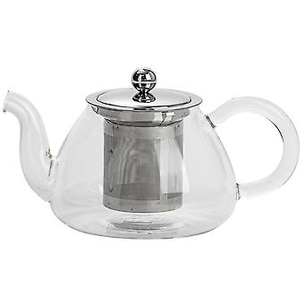 Argon Tableware Clear Glass Teapot z zaparzaczem do herbaty loose leaf - 700ml