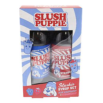 Slush Puppie Syrup Duo Pack (Blue Rasp &Strawberry)