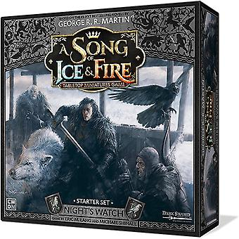 Song of Ice and Fire Miniatures Jeu Night-apos;s Watch Starter Set