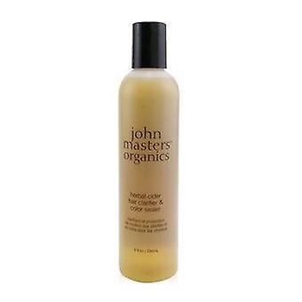 Herbal Cider Hair Clarifier & Color Sealer 236ml of 8oz