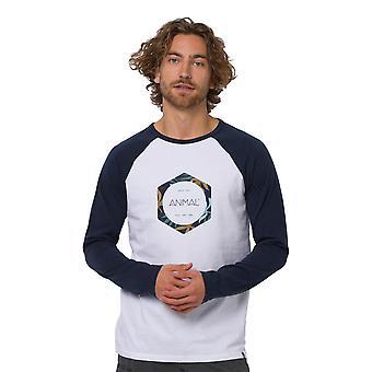 Animal Ostler T-Shirt - Indigo Blue