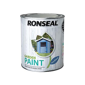 Ronseal Garden Paint Cornflower 750ml RSLGPCF750