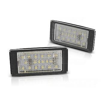 Kennzeichenbeleuchtung LED BMW E46 COUPE / E46 M 98-03