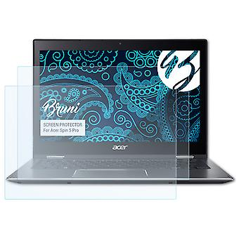 Bruni 2x Screen Protector compatible with Acer Spin 5 Pro Protective Film