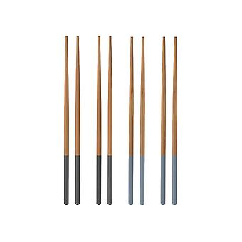 Typhoon Chopsticks 4 Pairs Blue 1401.492
