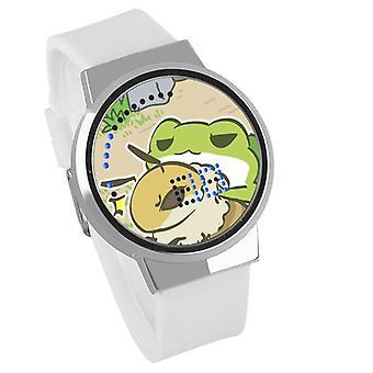 Waterproof Luminous LED Digital Touch Children watch - Travel frog #10