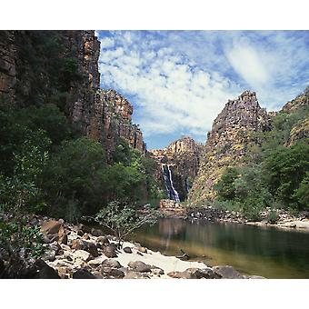 Twin Falls Kakadu National Park Northern Territory Australien PosterPrint