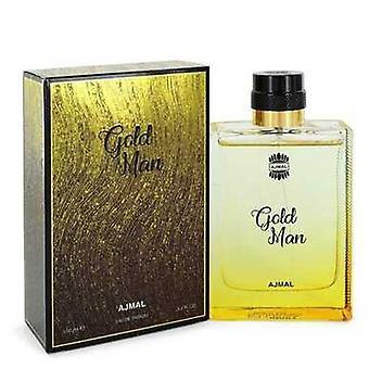 Ajmal Gold De Ajmal Eau De Parfum Spray 3.4 Oz (barbati) V728-550591