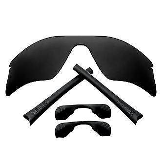 Polarized Replacement Lenses & Kit for Oakley Radar Range Black Anti-Scratch Anti-Glare UV400 by SeekOptics