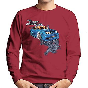 Fast and Furious Tokyo Drift Dragon Men's Sweatshirt