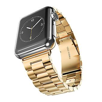 Strapsco solid stainless steel band for apple iwatch