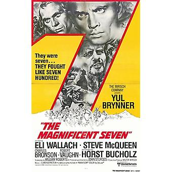 The Magnificent Seven Movie Poster (11 x 17)