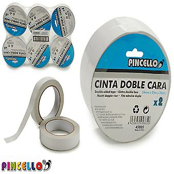 Adhesive Tape Double-sided (10,5 x 5 x 10,5 cm) (2 pcs)
