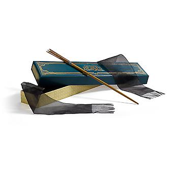 The noble collection the wand of newt scamander with collector's box