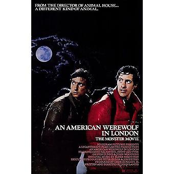 האמריקאי זאב בלונדון פוסטר סרט (11 x 17)