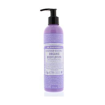 Lavender-coconut fluid cream 240 ml