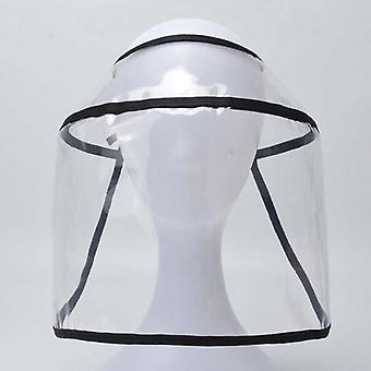 Transparent Visually Helmet Protective Hats Adult Safety Visor Cap Hat Face