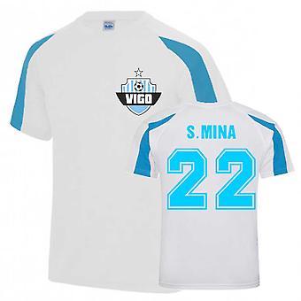Santi Mina Vigo Urheiluharjoittelu Jersey (Valkoinen)