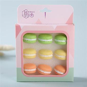 Creative Simulation Macaron Shape Colorful Pushpins