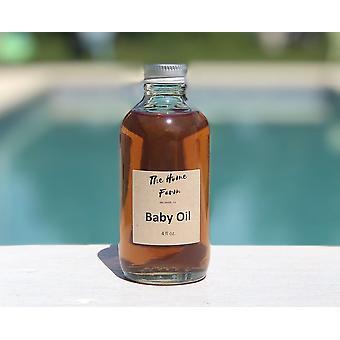 Orgaaninen vauvan öljy