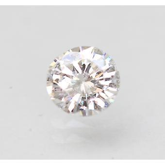Sertifioitu 0,45 karat D SI1 pyöreä brilliant parannettu luonnollinen löysä timantti 5,16mm