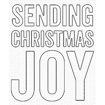 My Favorite Things Die-namics Die - Weihnachtsfreude senden