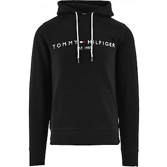 Tommy Hilfiger Black Core Tommy Logo Hoody
