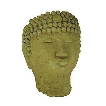 Designer Stone Harvest Yellow Buddha Head Concrete Wall Mounted Planter