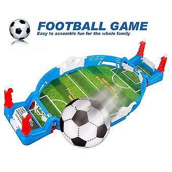 Mini Table Sports Football Game, Children's Adult Two-person Combat Interactive Toy, Power Shooting Game