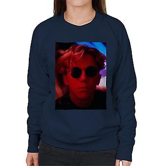 Weird Science Gary Wallace bär glasögon Kvinnor' s Sweatshirt