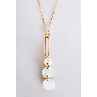Drop Buffalo Horn Long Pendant Necklace